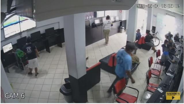 San Martín de Porres: Efectivos policiales frustran robo en un local de apuestas