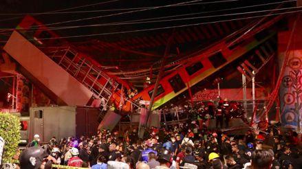 MÉXICO: Aumentan las cifras de fallecidos tras la caída de un puente del metro en la ciudad