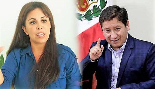 Premier Bellido amenaza con demandar a congresista Patty Chirinos