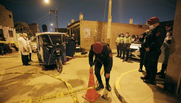 Callao: pasajero asesina a mototaxista con cuatro balazos