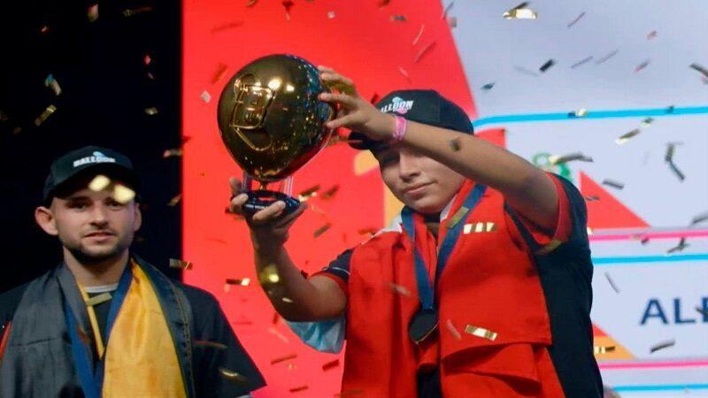Peruano de 18 años es el primer campeón en el Mundial de Globos [FOTOS]